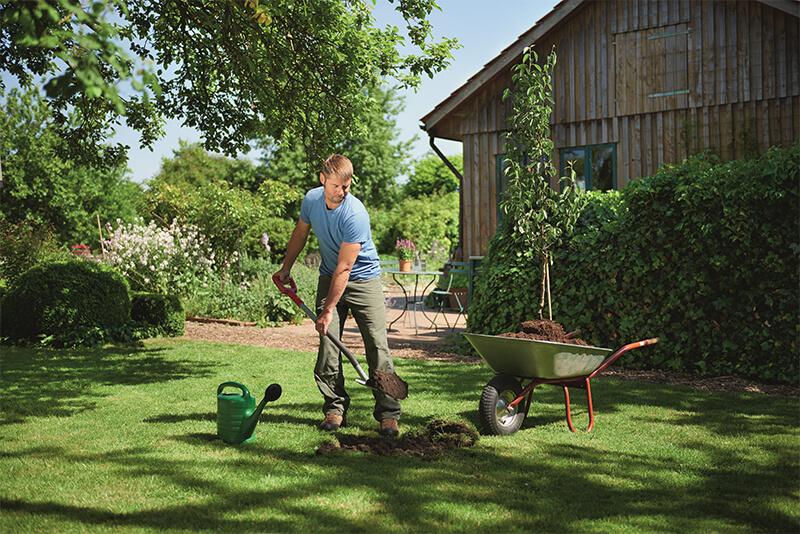 Duże narzędzia ogrodowe