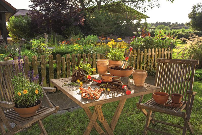 Małe narzędzia ogrodnicze